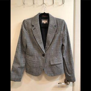 Merona women's plaid blazer